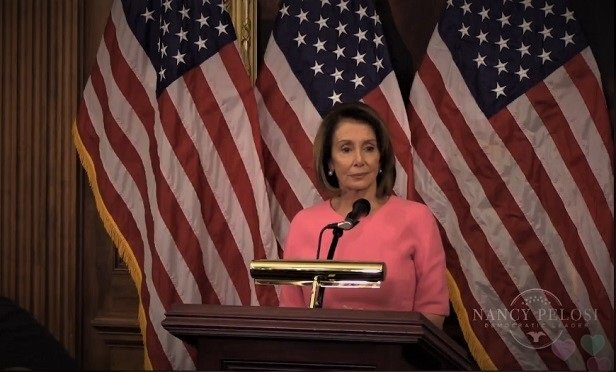 Rep. Nancy Pelosi, D-Calif., at press conference after the Nov. 6, 2018, midterm elections. (Photo: Pelosi)
