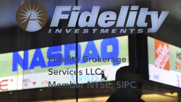A Fidelity sign