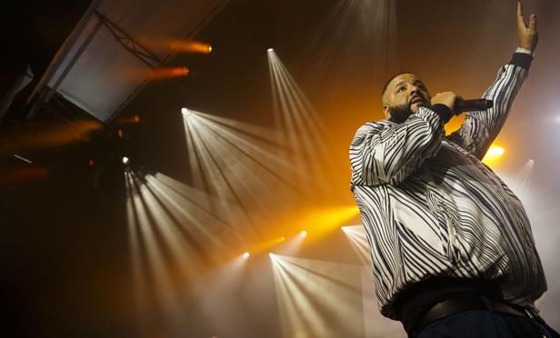 DJ Khaled. (Photo: Bloomberg)