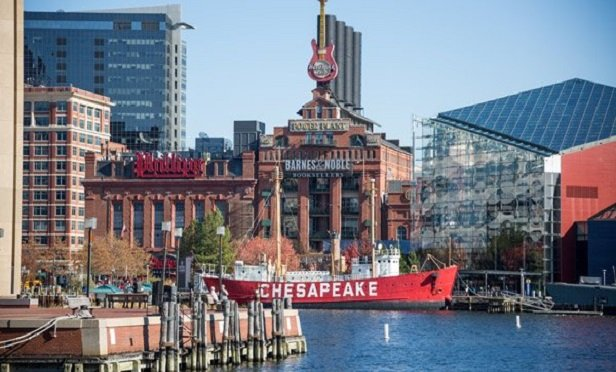 Inner Harbor in Baltimore