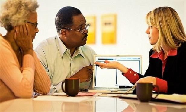 Clients with an advisor