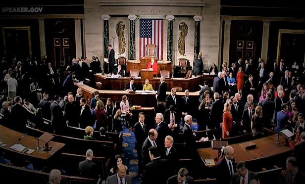 Floor of the U.S. House