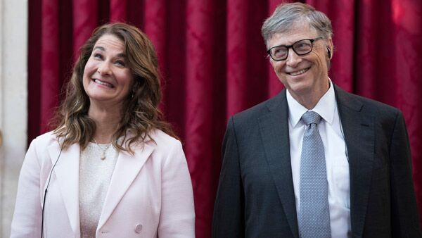 Bill and Melinda Gates. (Photo: AP)
