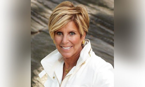 Personal finance expert Suze Orman