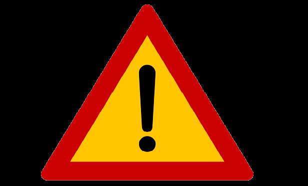 Danger sign (Image: Wikimedia Commons PD)