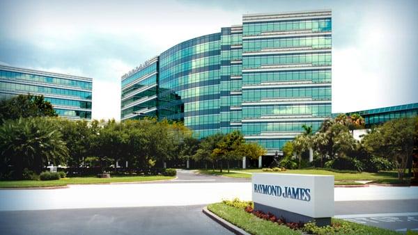 Raymond James' headquarters in St. Petersburg, Florida.