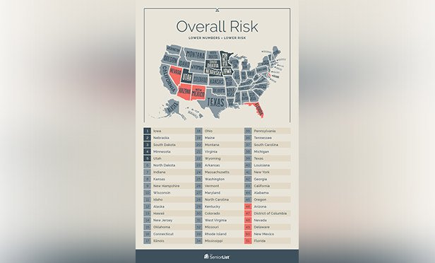 Top 10 Safest States for Seniors