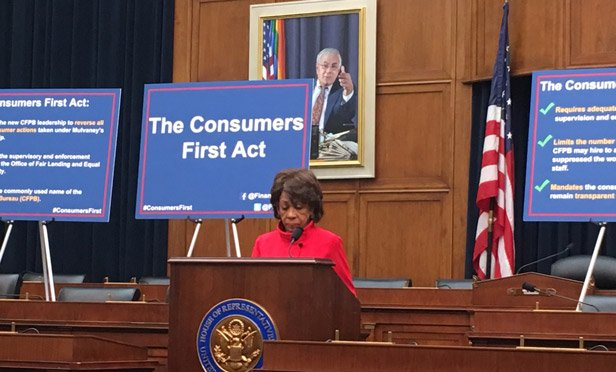 Rep. Waters Comments on SEC's Regulation Best Interest