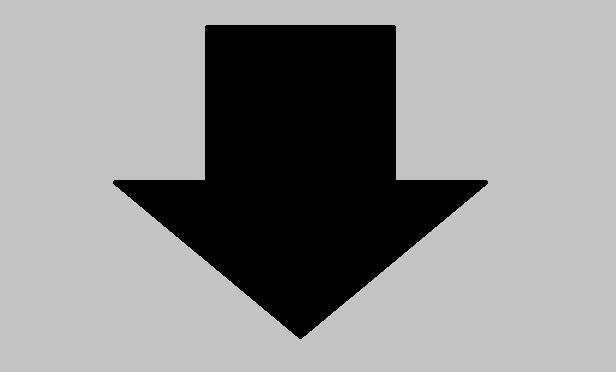 An arrow pointing down