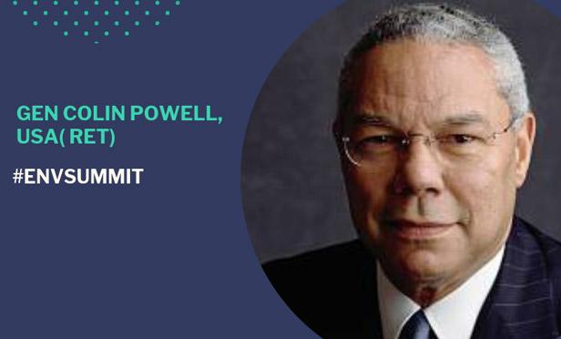 Ret. Gen. Colin Powell at the Envestnet Advisor Summit