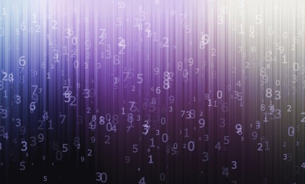 Computer background with numbers (Credit: Thinkstock)