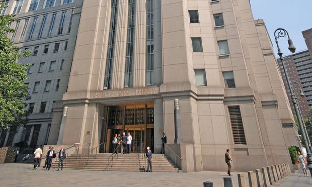 The Southern District of New York Daniel Patrick Moynihan U.S. Courthouse in Manhattan. (Photo: Rick Kopstein/ALM)