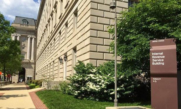 The IRS building.