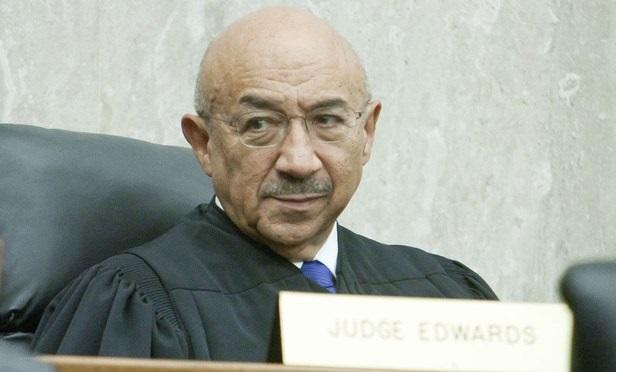 D.C. Circuit Judge Harry Edwards (Photo: Diego M. Radzinschi/ ALM)