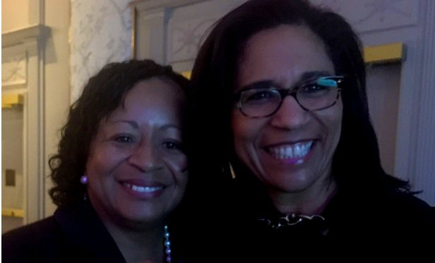 Barbara Turner and Salene Hitchcock-Gear, on Feb. 28, 2019, at the Women & Diversity conference in New York.