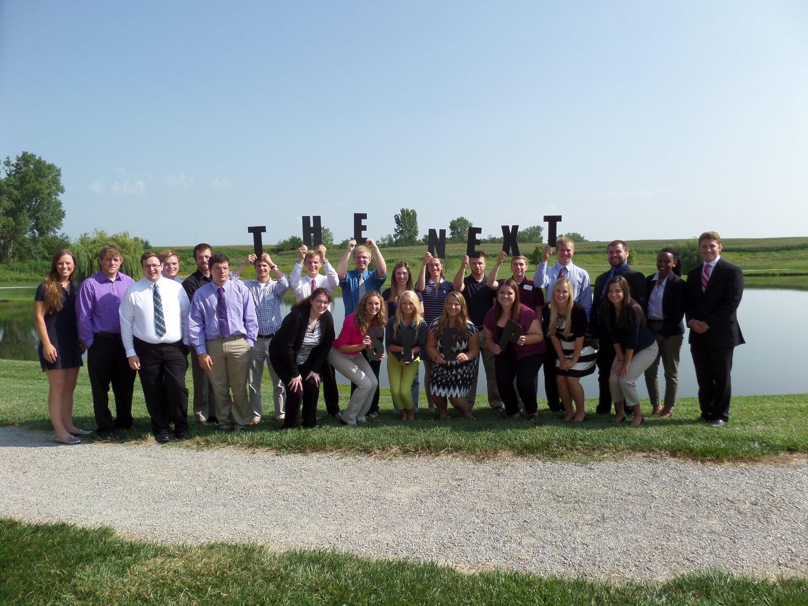 Cambridge interns group photo