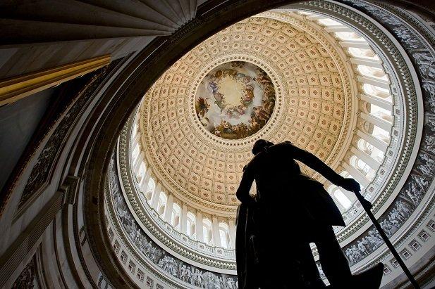 La rotonde du Capitole américain