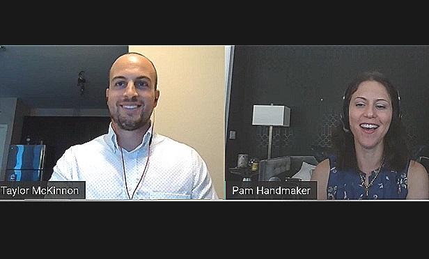 Taylor McKinnon and Pamela Handmaker