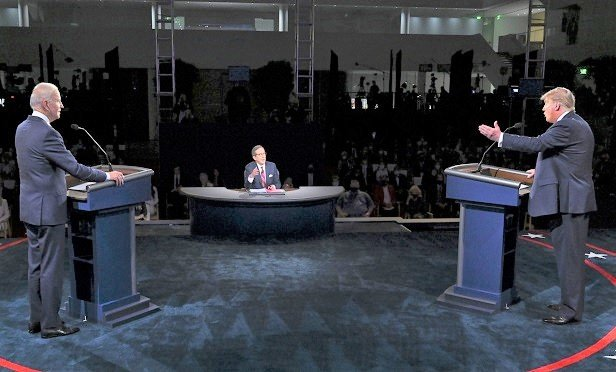 Trump Biden Spar In Presidential Debate Like No Other Thinkadvisor