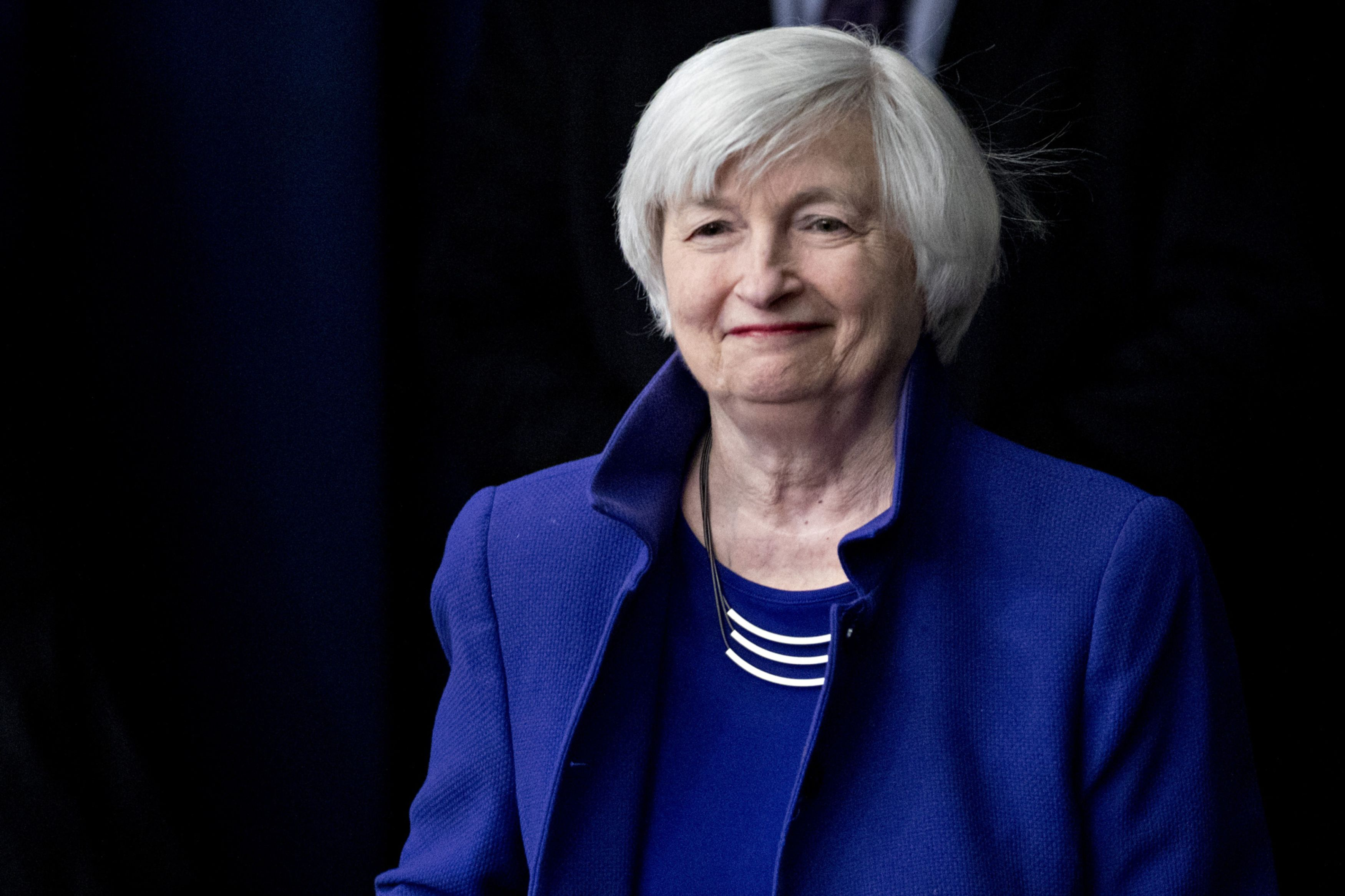 Yellen Confirmed as Treasury Chief