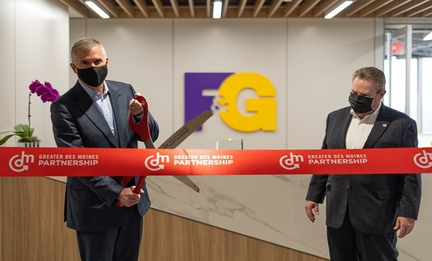F&G Cuts Virtual Ribbon at New Offices: Annuity Moves