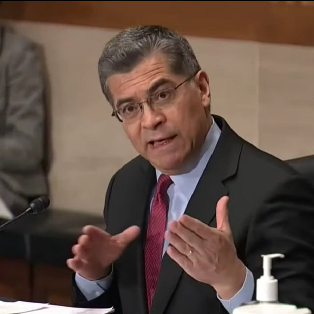 HHS Nominee Becerra Talks About Biden Medicare Buy-In Plan Thinking