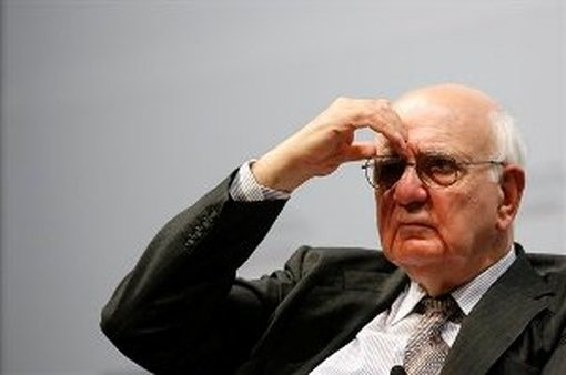 Paul Volcker (AP Photo/ Wong Maye-E)