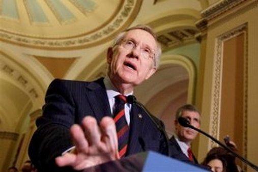 Sen. Harry Reid, D-Nev. (AP Photo/J. Scott Applewhite)