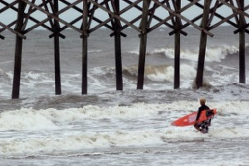 The individual LTCI market seas got too rough for Prudential. (AP Photo/Jim Dietz)