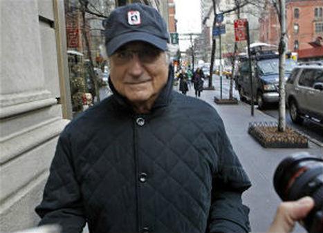Bernard Madoff in 2008 photo. AP/Jason DeCrow.