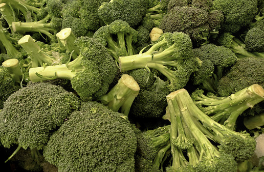 What's left on the plate after broccoli is gone? Image, AP