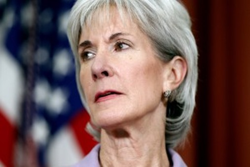 Kathleen Sebelius forges ahead with implementing PPACA. (AP Photo/Charles Dharapak, File)