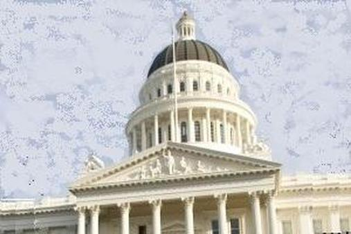 The California Capitol (Modified AP Photo/Robert Durell)