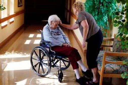 About 5% of Medicare enrollees live in long-term care facilities. (AP Photo/Genevieve Ross)