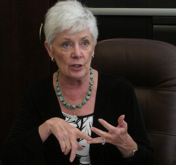 Kansas Insurance Commissioner and NAIC health Insurance leader Sandy Praeger. Image: Courtesy of AP