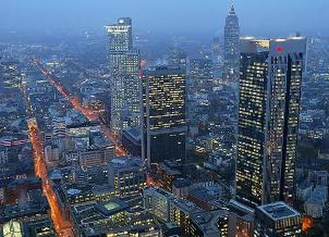 Downtown Frankfurt (AP Images)