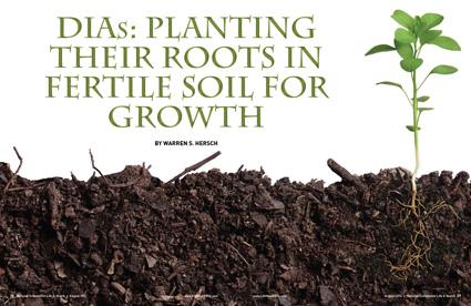 Dias planting their roots in fertile soil for growth for Fertile soil 07