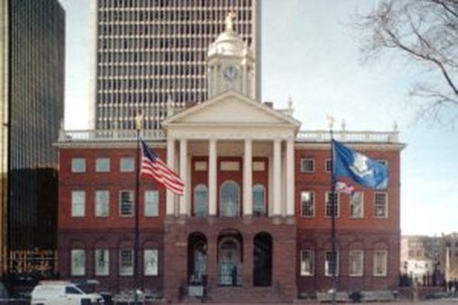 Rate filings hint at how PPACA is affecting the prices employers near Hartford's Old State House will pay for health coverage. (AP Photo/BobChild)