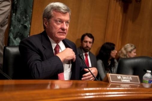 Sen. Max Baucus, D-Mont. (AP Photo/Evan Vucci)