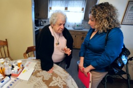 The goal of helping the elderly stay home has attracted bipartisan support. (AP Photo/Jessica Hill)
