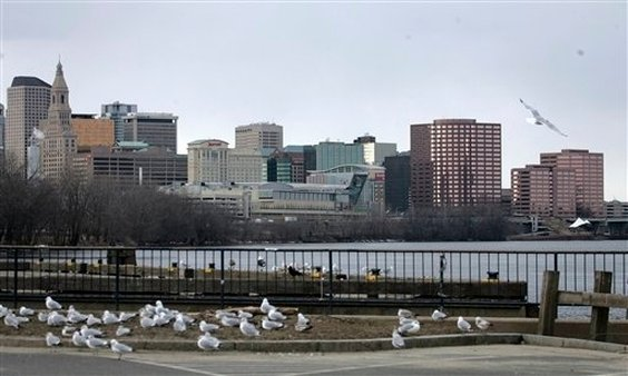 The skyline and the Connecticut River are seen in Hartford, Conn., where the offices of the Connecticut Insurance Department are located. AP Photo/Bob Child)