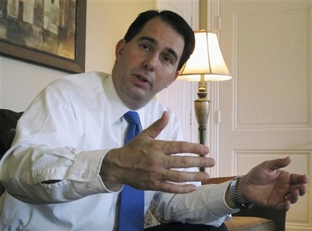 Wisconsin Gov. Scott Walker (AP Photo/Scott Bauer, File)