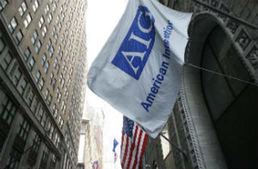 "AIG thinks the U.S. Treasury will sell its remaining stake in the company ""sometime this year."" (AP Photo/Mark Lennihan)"