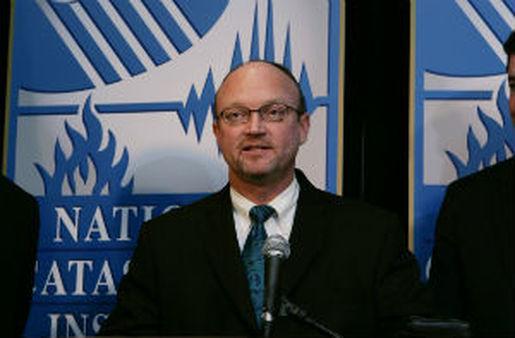 Kevin McCarty, NAIC president and Florida insurance commissioner (AP Photo/Paul Sakuma)