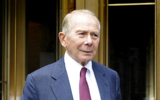 """The lawsuit brought by Starr International and its head, Maurice """"Hank"""" Greenberg, alleged the Federal Reserve Board acted against AIG with its 2008 bailout. (AP Photo/Louis Lanzano)"""