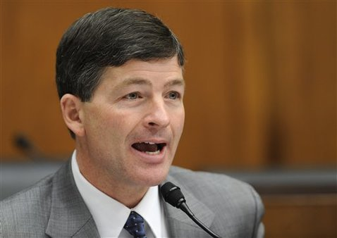 Republicans named Rep. Jeb Hensarling, R-Texas, as the new head of the House FSC. (AP Photo/Susan Walsh)