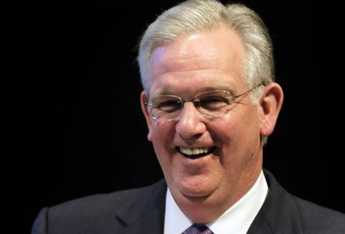 Gov. Jay Nixon, a Democrat, won re-election by the same Missouri voters who  effectively quashed a state exchange. (AP Photo/Jeff Roberson, File)