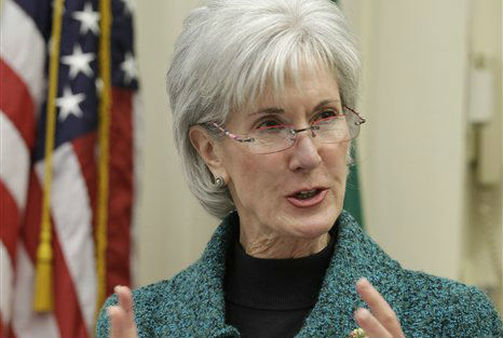 Secretary Sebelius speaks at a health care round table discussion in this 2011 file photo in Seattle. (AP Photo)