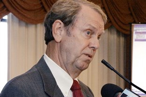 Mississippi Insurance Commissioner Mike Chaney says he is still working on a way to get the exchange approved. (AP Photo/Rogelio V. Solis)