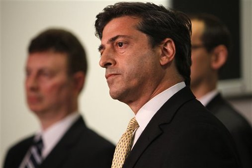 Robert Khuzami plans to leave the SEC this month after four years as its enforcement director. (AP Photo/Jacquelyn Martin)